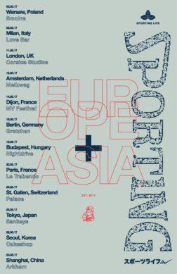 Europe + Asia Tour